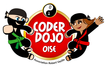 Logo CoderDojo Oise - Association Robert Vazille